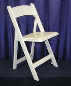 Rental store for CHAIR -  WOOD WHITE PADDED in Plymouth MN