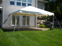Rental store for CANOPY b FRAME 15X15 WHITE in Plymouth MN