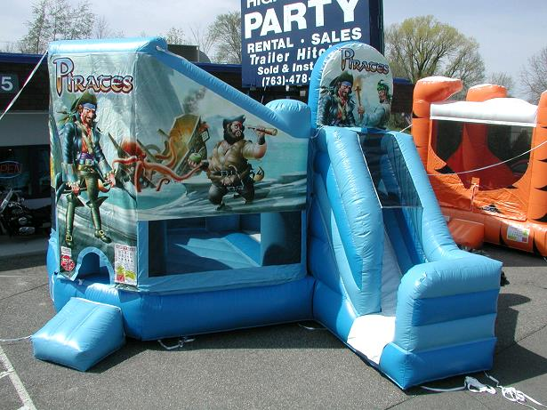 Where to find Inflatable  PIRATE CLUB   SLIDE in Plymouth