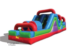Rental store for Inflatable OBSTACLE COURSE LARGE in Plymouth MN