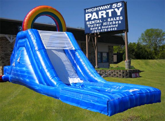 Where to find Inflatable WATERSLIDE 7  LIL  SQUIRT in Plymouth