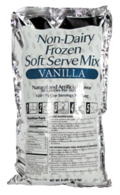 Rental store for SOFT SERVE MIX VANILLA 6LBS in Plymouth MN