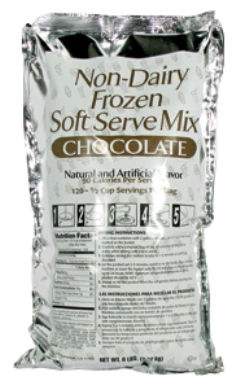 Rental store for SOFT SERVE MIX CHOCOLATE 6LBS in Plymouth MN