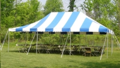 Rental store for 20X20 GRASS PACKAGE W  ROUND TABLES in Plymouth MN