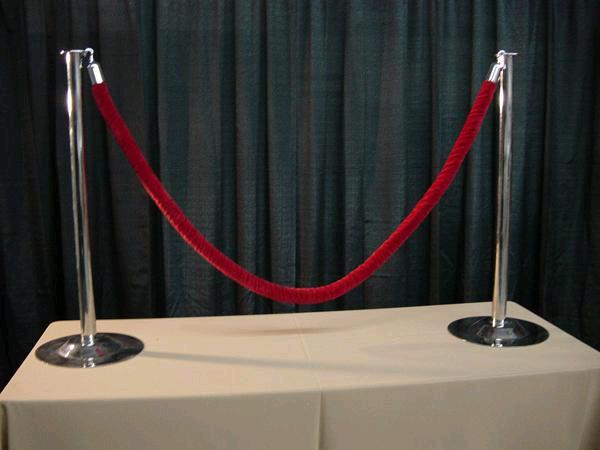 Where to find RED CARPET VELVET ROPE PACKAGE in Plymouth