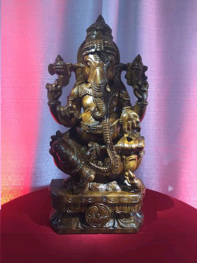 Where to find GANESH STATUE in Plymouth